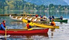 CAnoe Festival on the water